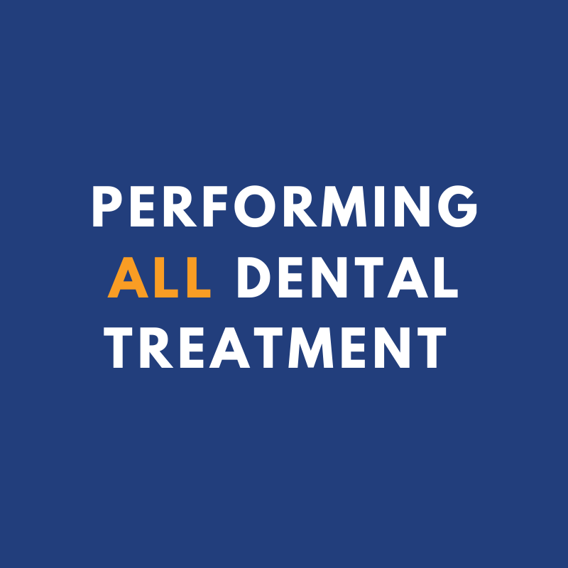 Image: Now Performing All Dental Treatment